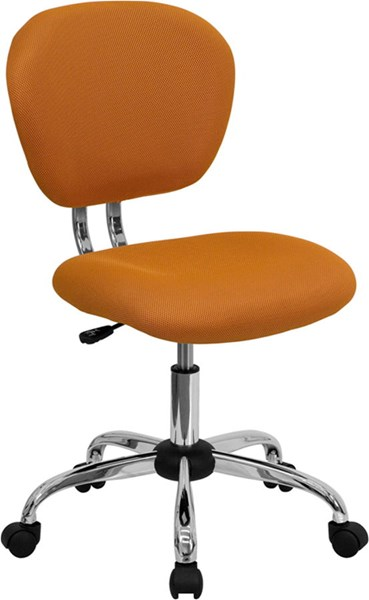 Flash Furniture Orange Mesh Adjustable Height Task Chair FLF-H-2376-F-ORG-GG
