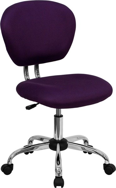 Flash Furniture Purple Mesh Adjustable Height Task Chair FLF-H-2376-F-PUR-GG