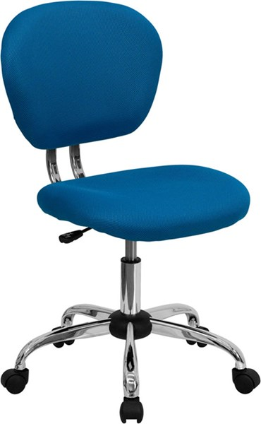 Flash Furniture Turquoise Mesh Adjustable Height Task Chair FLF-H-2376-F-TUR-GG
