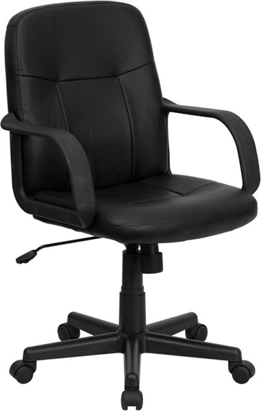 Flash Furniture Mid Back Black Glove Vinyl Executive Office Chair FLF-H8020-GG