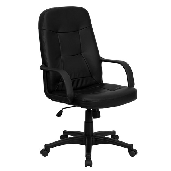 Flash Furniture High Back Black Glove Vinyl Executive Office Chair FLF-H8021-GG