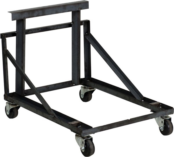 Flash Furniture Black Steel Band Music Stack Chair Dolly FLF-HF-MUS-DOLLY-GG
