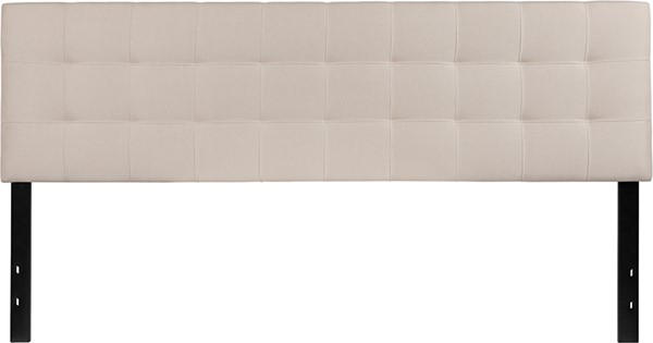 Flash Furniture Bedford Beige King Headboard FLF-HG-HB1704-K-B-GG