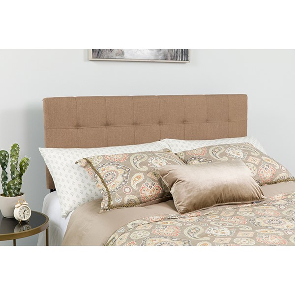 Flash Furniture Bedford Camel King Headboard FLF-HG-HB1704-K-C-GG