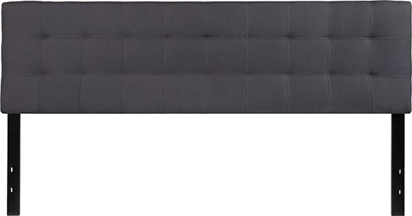 Flash Furniture Bedford Dark Gray King Headboard FLF-HG-HB1704-K-DG-GG