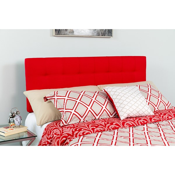 Flash Furniture Bedford Red King Headboard FLF-HG-HB1704-K-R-GG