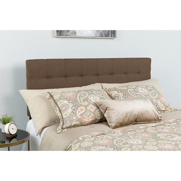 Flash Furniture Bedford Dark Brown Twin Headboard FLF-HG-HB1704-T-DBR-GG