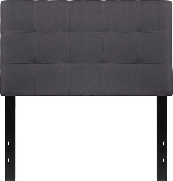 Flash Furniture Bedford Dark Gray Twin Headboard FLF-HG-HB1704-T-DG-GG