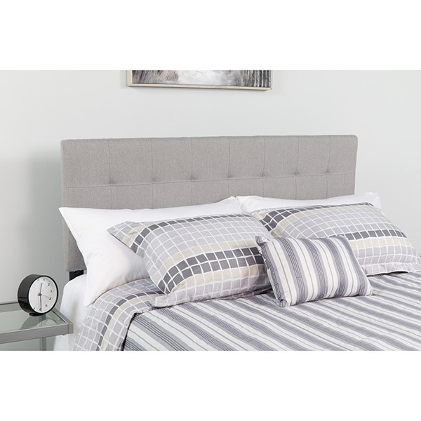 Flash Furniture Bedford Light Gray Twin Headboard FLF-HG-HB1704-T-LG-GG