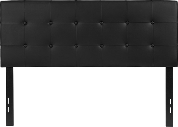 Flash Furniture Lennox Black Full Headboard FLF-HG-HB1705-F-BK-GG