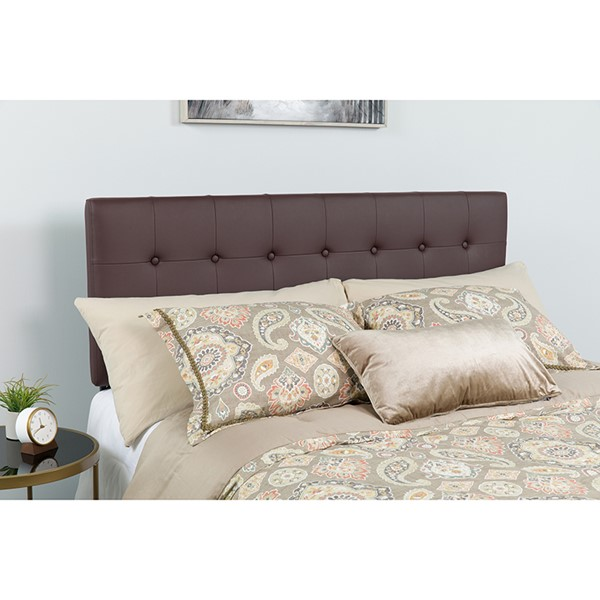 Flash Furniture Lennox Brown King Headboard FLF-HG-HB1705-K-BR-GG