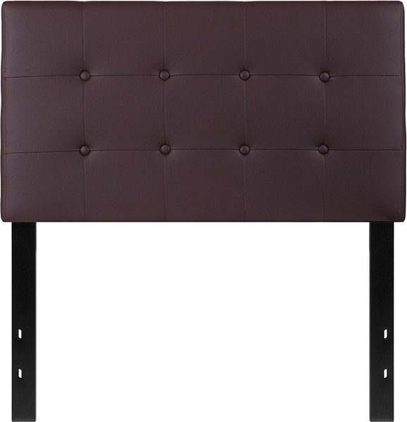 Flash Furniture Lennox Brown Twin Headboard FLF-HG-HB1705-T-BR-GG