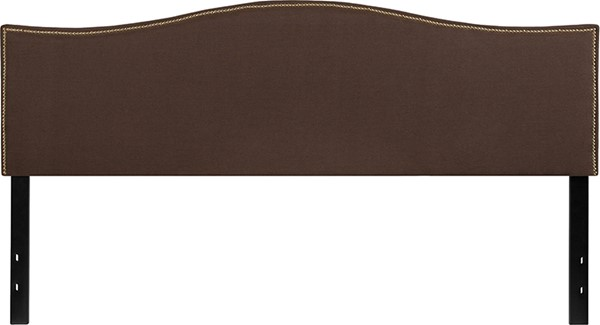 Flash Furniture Lexington Dark Brown King Headboard FLF-HG-HB1707-K-DBR-GG