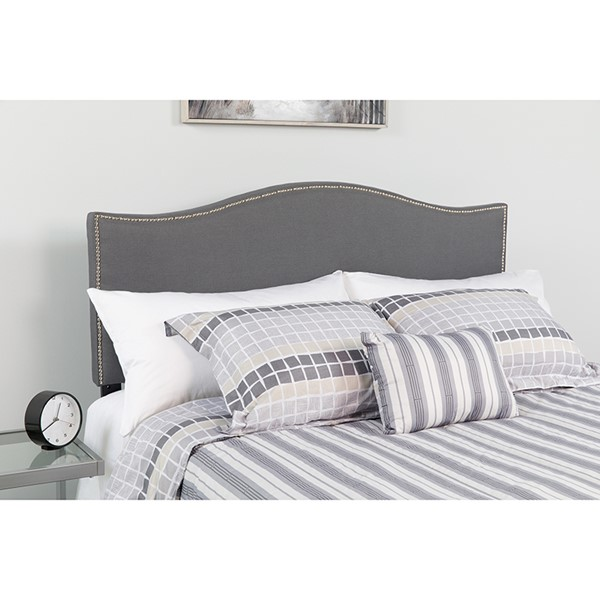 Flash Furniture Lexington Dark Gray King Headboard FLF-HG-HB1707-K-DG-GG