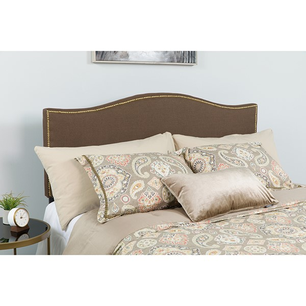 Flash Furniture Lexington Dark Brown Queen Headboard FLF-HG-HB1707-Q-DBR-GG
