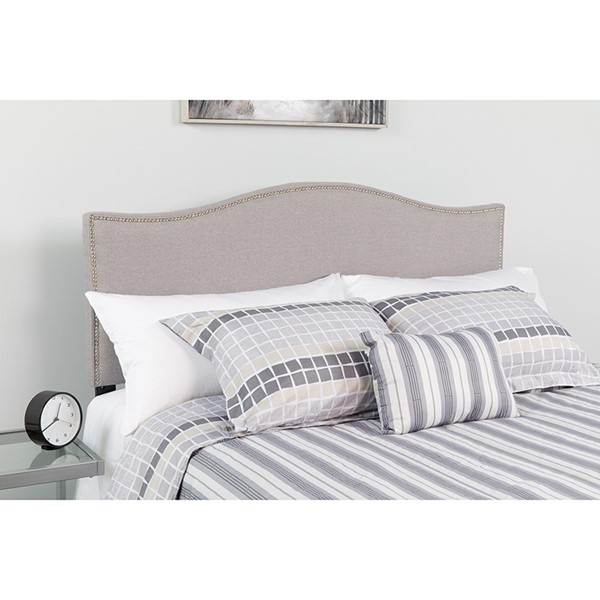 Flash Furniture Lexington Light Gray Queen Headboard FLF-HG-HB1707-Q-LG-GG