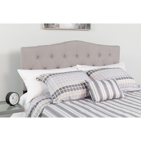 Flash Furniture Cambridge Light Gray Full Headboard FLF-HG-HB1708-F-LG-GG