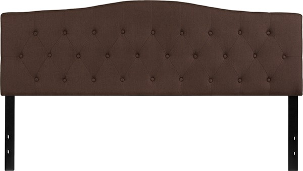 Flash Furniture Cambridge Dark Brown King Headboard FLF-HG-HB1708-K-DBR-GG
