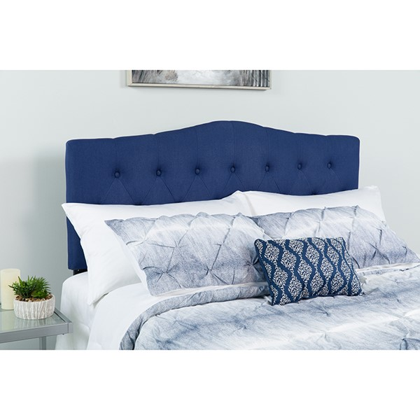 Flash Furniture Cambridge Navy King Headboard FLF-HG-HB1708-K-N-GG