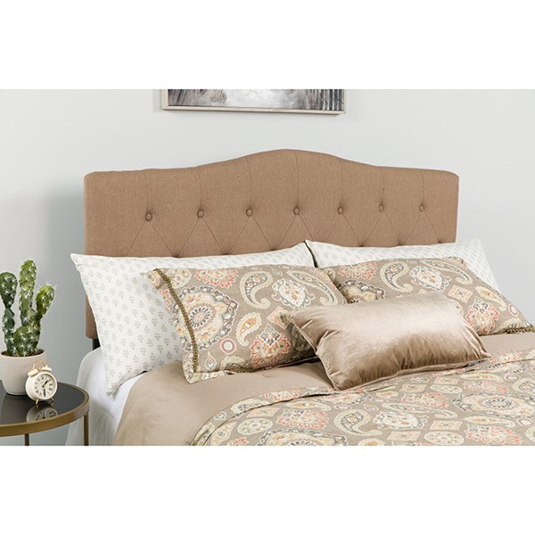 Flash Furniture Cambridge Camel Queen Headboard FLF-HG-HB1708-Q-C-GG