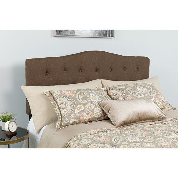 Flash Furniture Cambridge Dark Brown Queen Headboard FLF-HG-HB1708-Q-DBR-GG