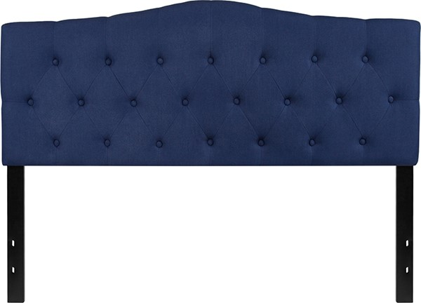 Flash Furniture Cambridge Navy Queen Headboard FLF-HG-HB1708-Q-N-GG