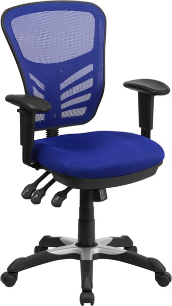 Flash Furniture Mesh Mid Back Swivel Task Chairs FLF-HL-0001-GG-OFF-CH-VAR
