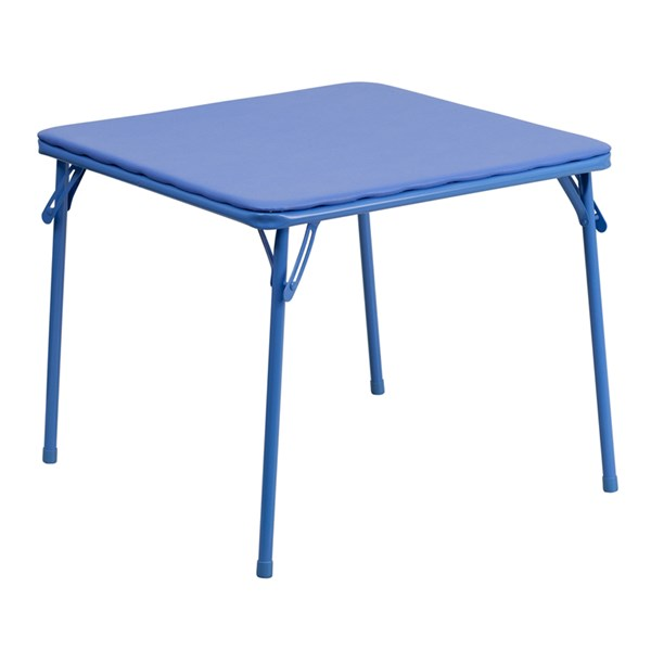 Flash Furniture Kids Blue Folding Table FLF-JB-TABLE-GG