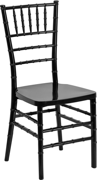 Flash Furniture Hercules Premium Black Stacking Chiavari Chair FLF-LE-BLACK-GG