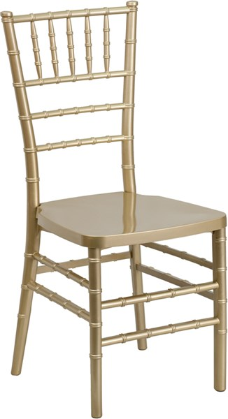 Flash Furniture Hercules Premium Gold Stacking Chiavari Chair FLF-LE-GOLD-GG