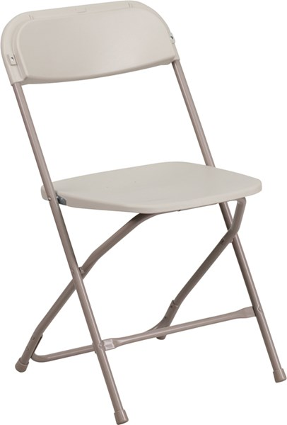 Flash Furniture Hercules Premium Plastic Folding Chair FLF-LE-L-3-GG-OUT-CH-VAR