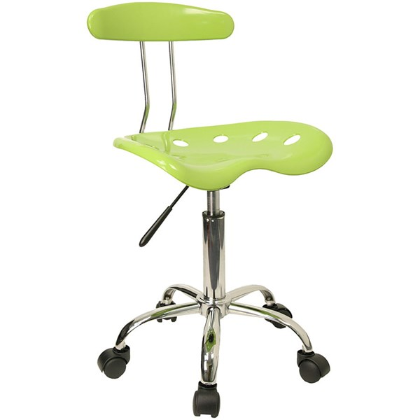 Flash Furniture Vibrant Chrome Computer Task Chairs FLF-LF-214-GG-VAR
