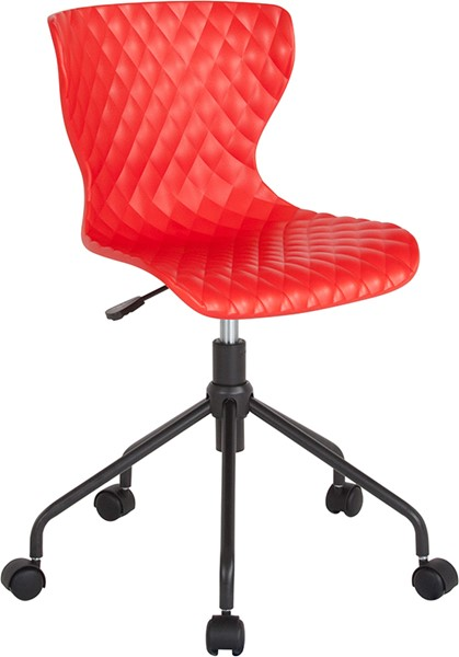 Flash Furniture Brockton Red Plastic Task Chair FLF-LF-7-07A-RED-GG
