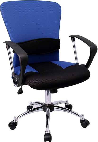 Flash Furniture Mid Back Mesh Office Chairs FLF-LF-W23-GG-VAR
