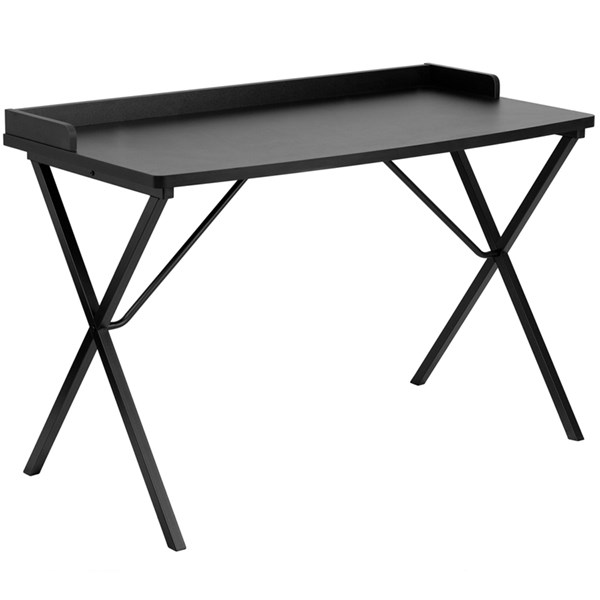 Flash Furniture Black Computer Desk FLF-NAN-2140-BK-GG