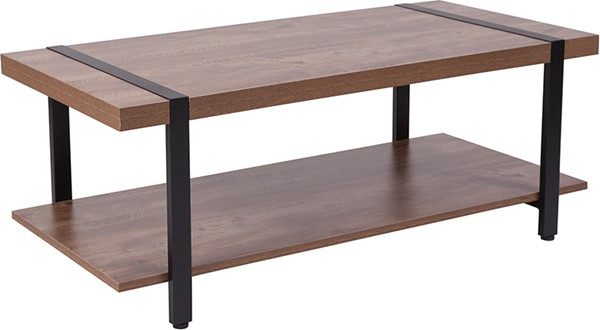 Flash Furniture Beacon Hill Rustic Coffee Table FLF-NAN-JH-1727-GG
