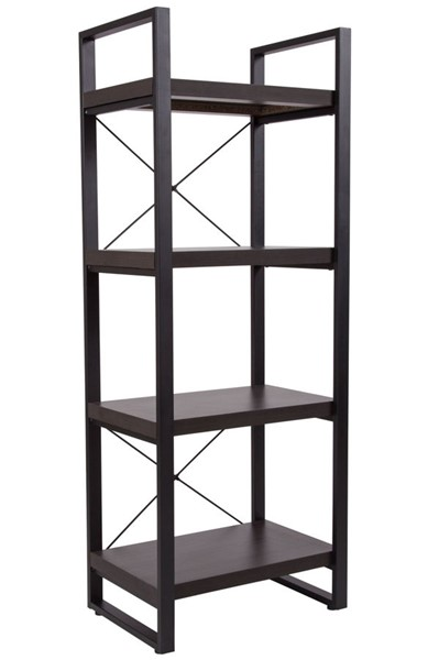 Flash Furniture Thompson Charcoal Bookshelf FLF-NAN-JH-1734-GG