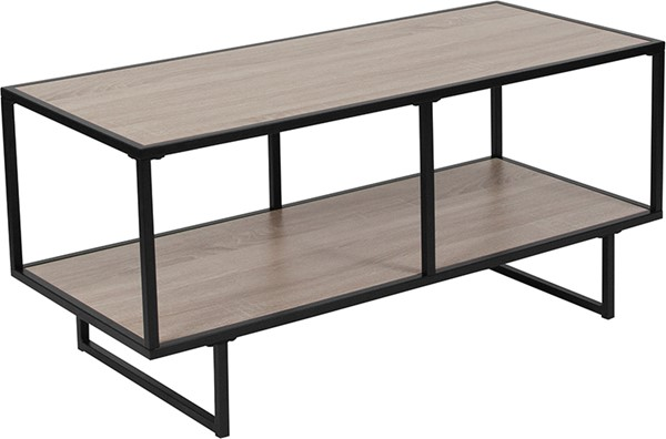 Flash Furniture Midtown Sonoma Oak TV Stand FLF-NAN-JN-21744TV-GG