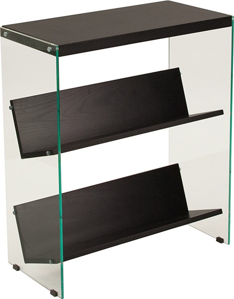 Flash Furniture Highwood Dark Ash Bookshelf FLF-NAN-JN21708B3-G-GG