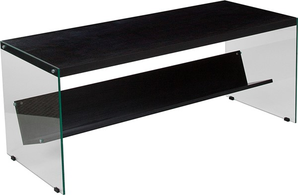 Flash Furniture Highwood Dark Ash Coffee Table FLF-NAN-JN21708C-G-GG