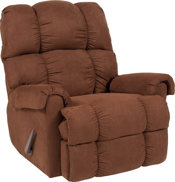 Flash Furniture Riverstone Chocolate Microfiber Recliner FLF-RS-100-01-GG
