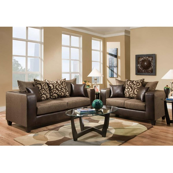 Flash Furniture Riverstone Track Arms Living Room Sets FLF-RS-4120-LR-VAR