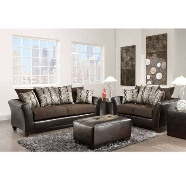 Flash Furniture Riverstone PU Flared Arms Living Room Sets FLF-RS-4173-LR-VAR