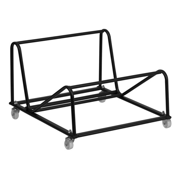 Flash Furniture Black Steel High Density Stack Chair Dolly FLF-RUT-188-DOLLY-GG