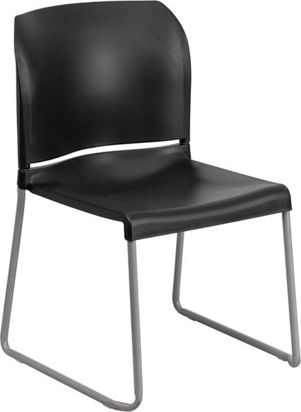 Flash Furniture Hercules Full Back Contoured Stack Chairs FLF-RUT-238A-GG-OUT-CH-VAR