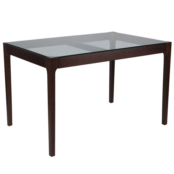 Flash Furniture Everett Clear Tables FLF-SK-TC-5048-GG-DT-VAR