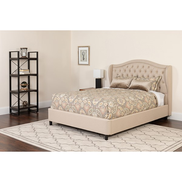 Flash Furniture Valencia Platform Bed FLF-SL-118-GG-BED-VAR4