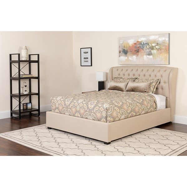 Flash Furniture Barletta Platform Bed Sets FLF-SL-BM-132-GG-BED-VAR3