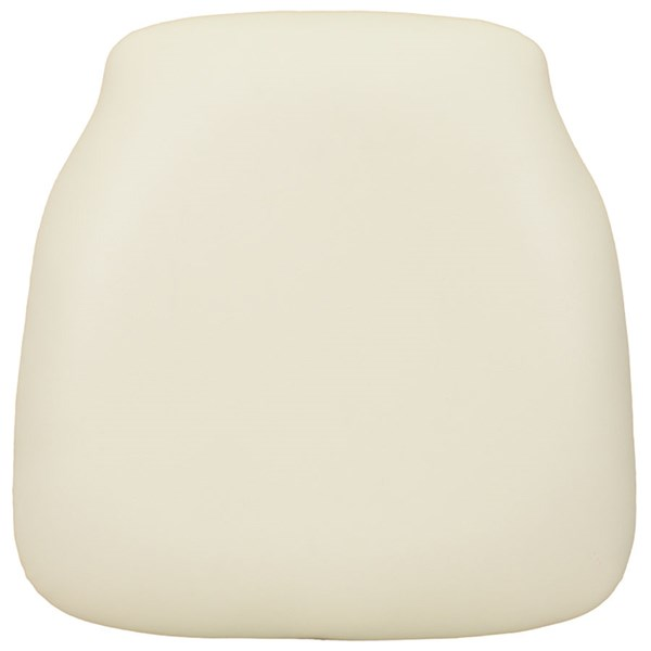 Hard Ivory Vinyl Chiavari Chair Cushion for Wood Chiavari Chairs FLF-SZ-IVORY-HD-GG