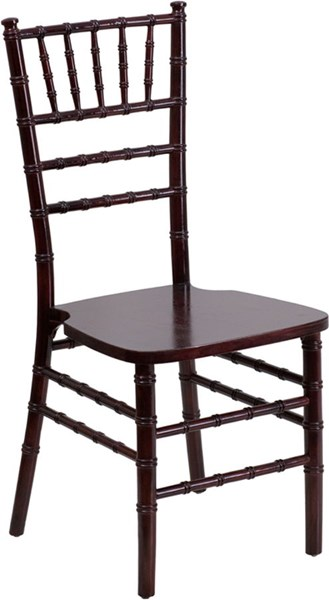 Flash Elegance Supreme Mahogany Wood Chiavari Chair FLF-SZ-MAHOGANY-GG